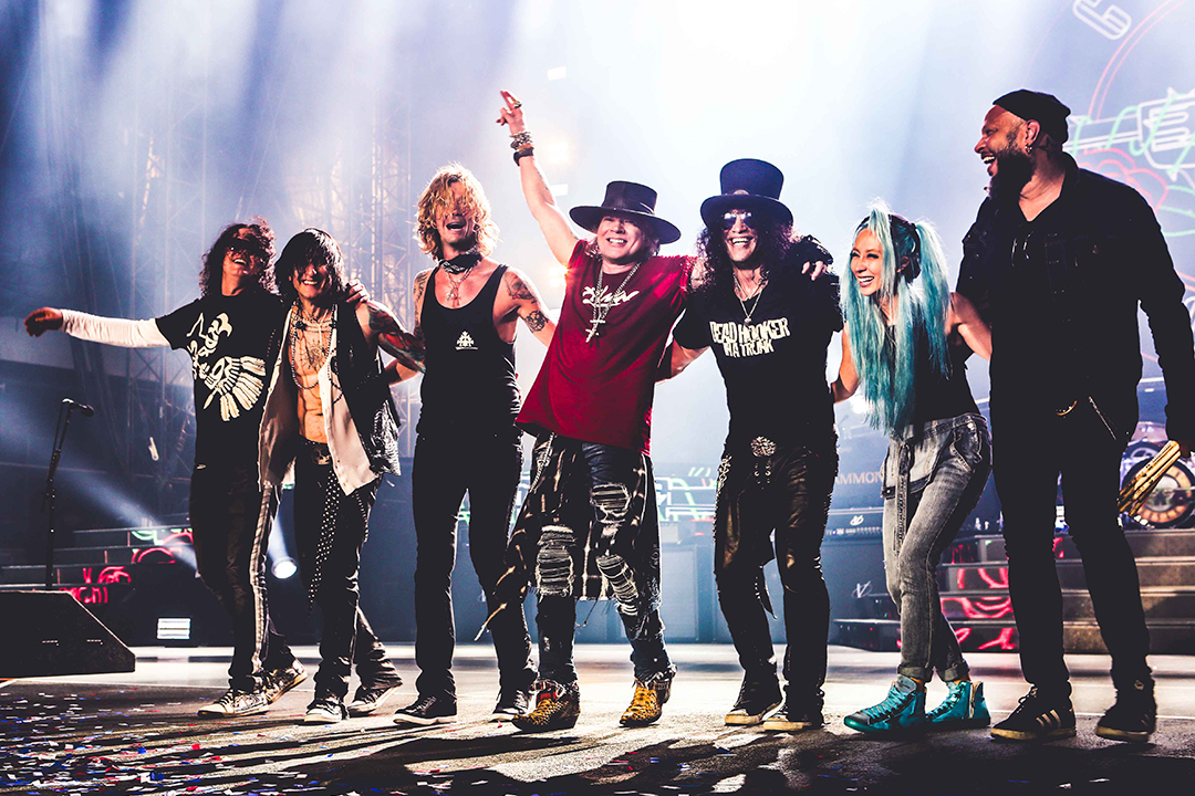 Guns N' Roses, el cuarto reencuentro más rentable de la historia